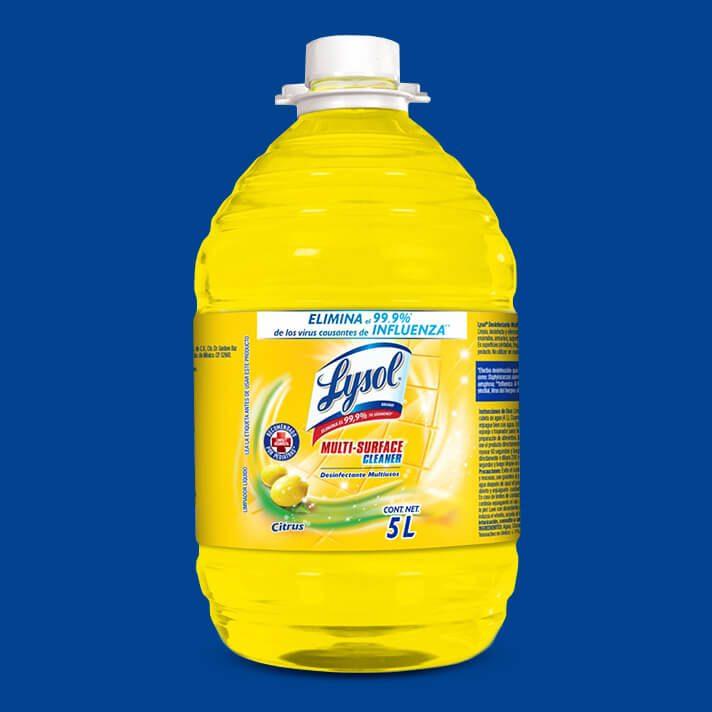 Lysol® Limpiador Desinfectante Multisuperficies